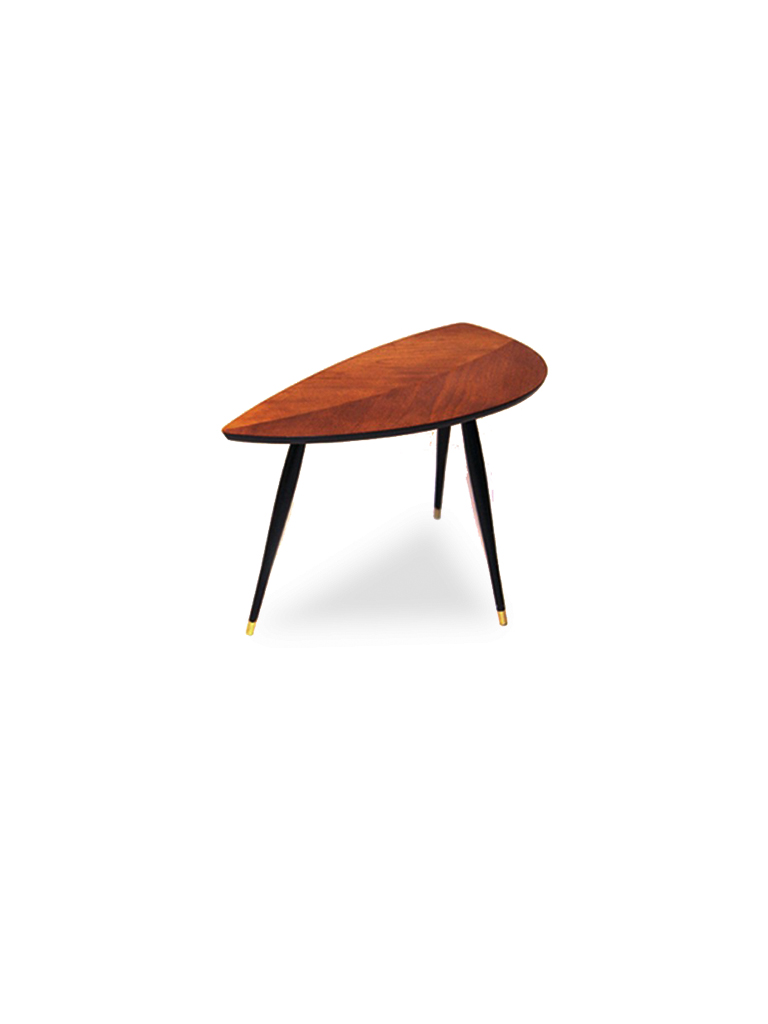 LEAF SHAPED SIDE TABLE
