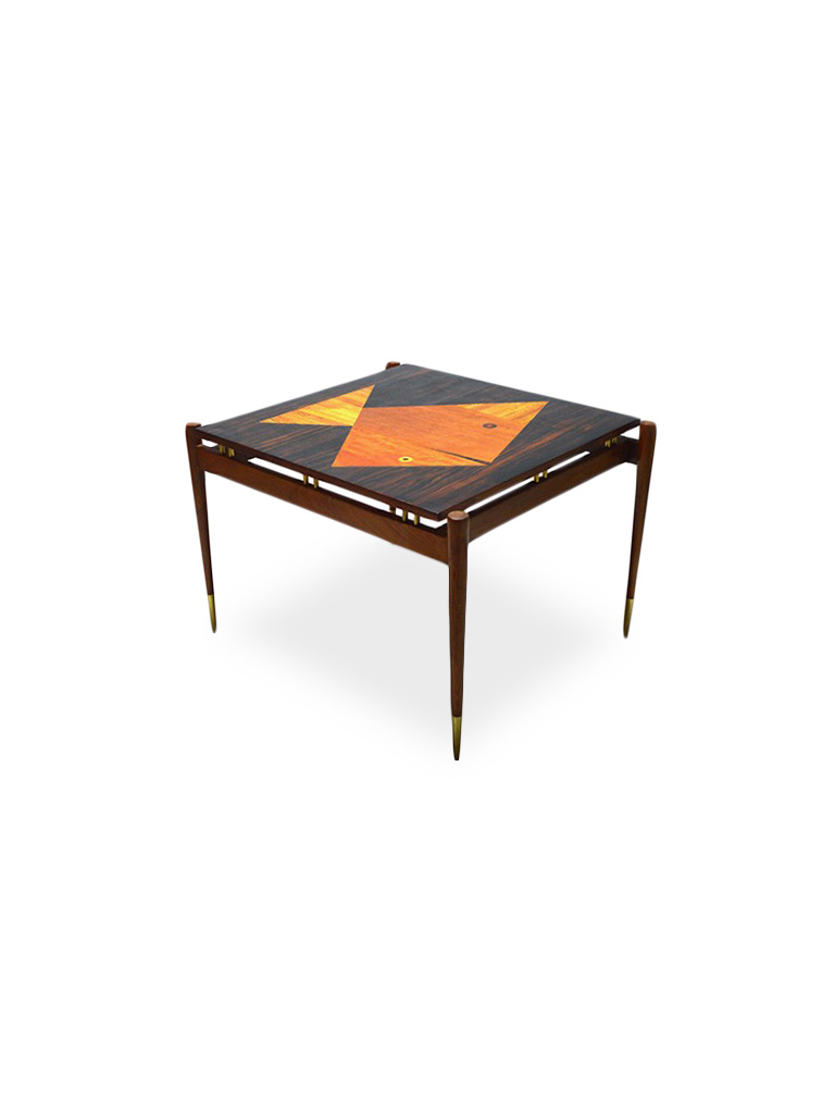 OCCASIONAL TABLE WITH INTARSIA
