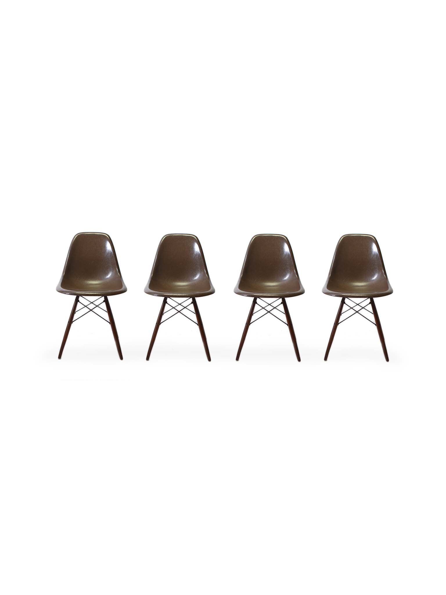 DSW CHAIRS BY RAY & CHARLES EAMES FOR HERMAN MILLER