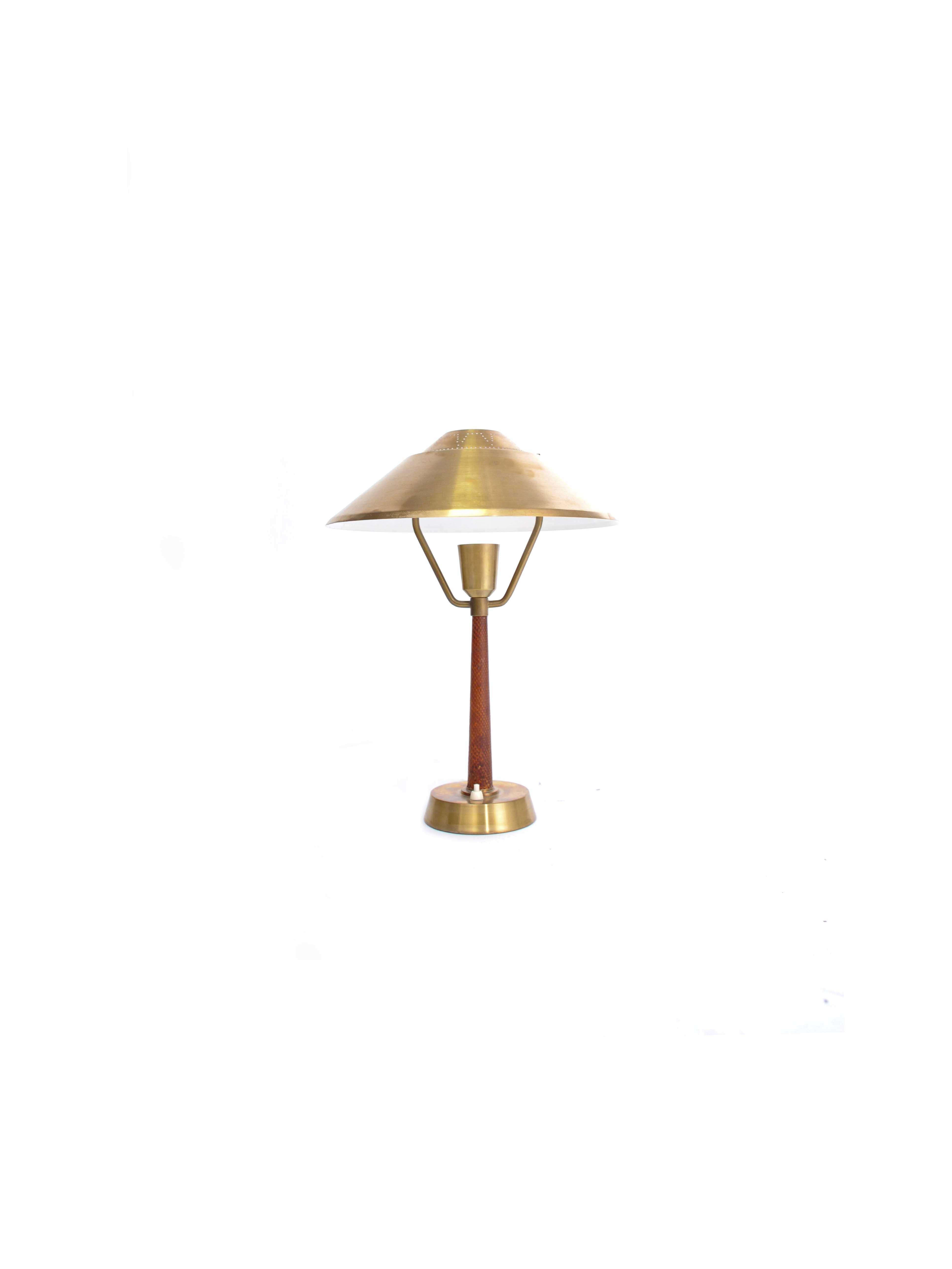 DESK LAMP BY AB E. HANSSON & CO