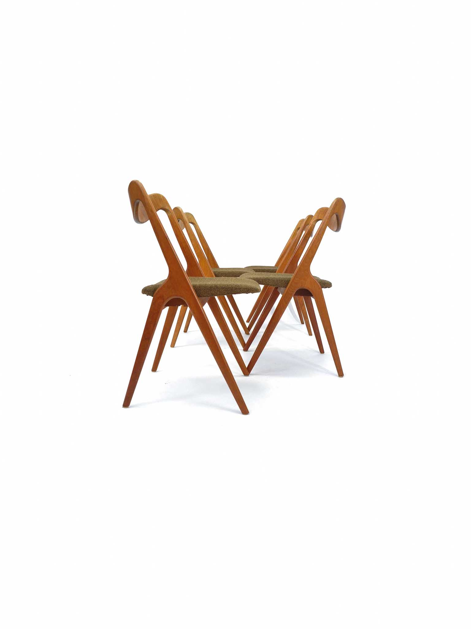SET OF FOUR CHAIRS BY ALBIN JOHANSSON & SÖNER