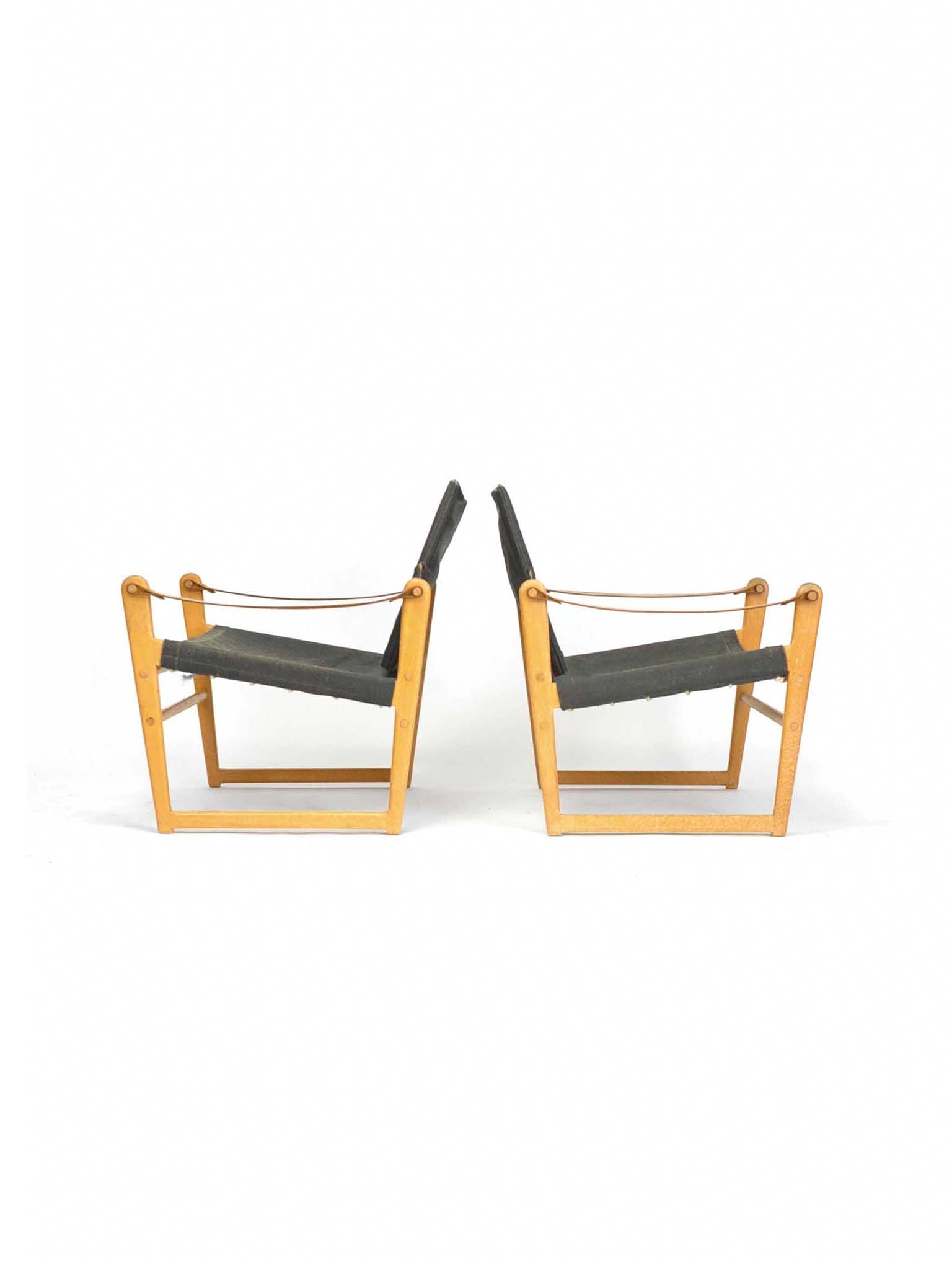 PAIR OF CIKADA EASY CHAIRS BY BENGT RUDA