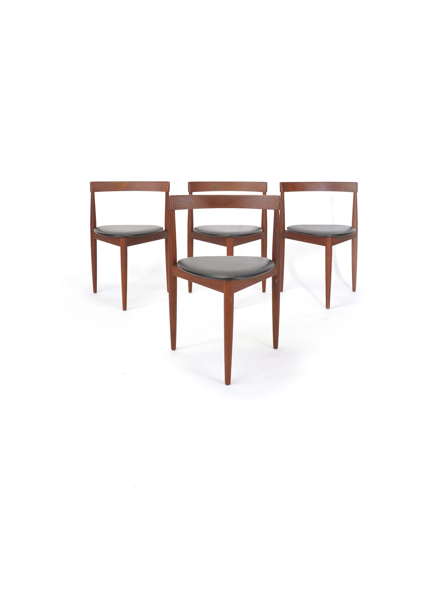SET OF FOUR HANS OLSEN CHAIRS