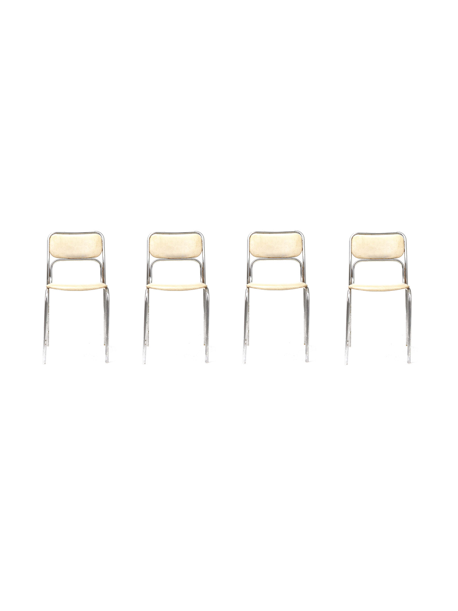 SET OF FOUR DINER CHAIRS