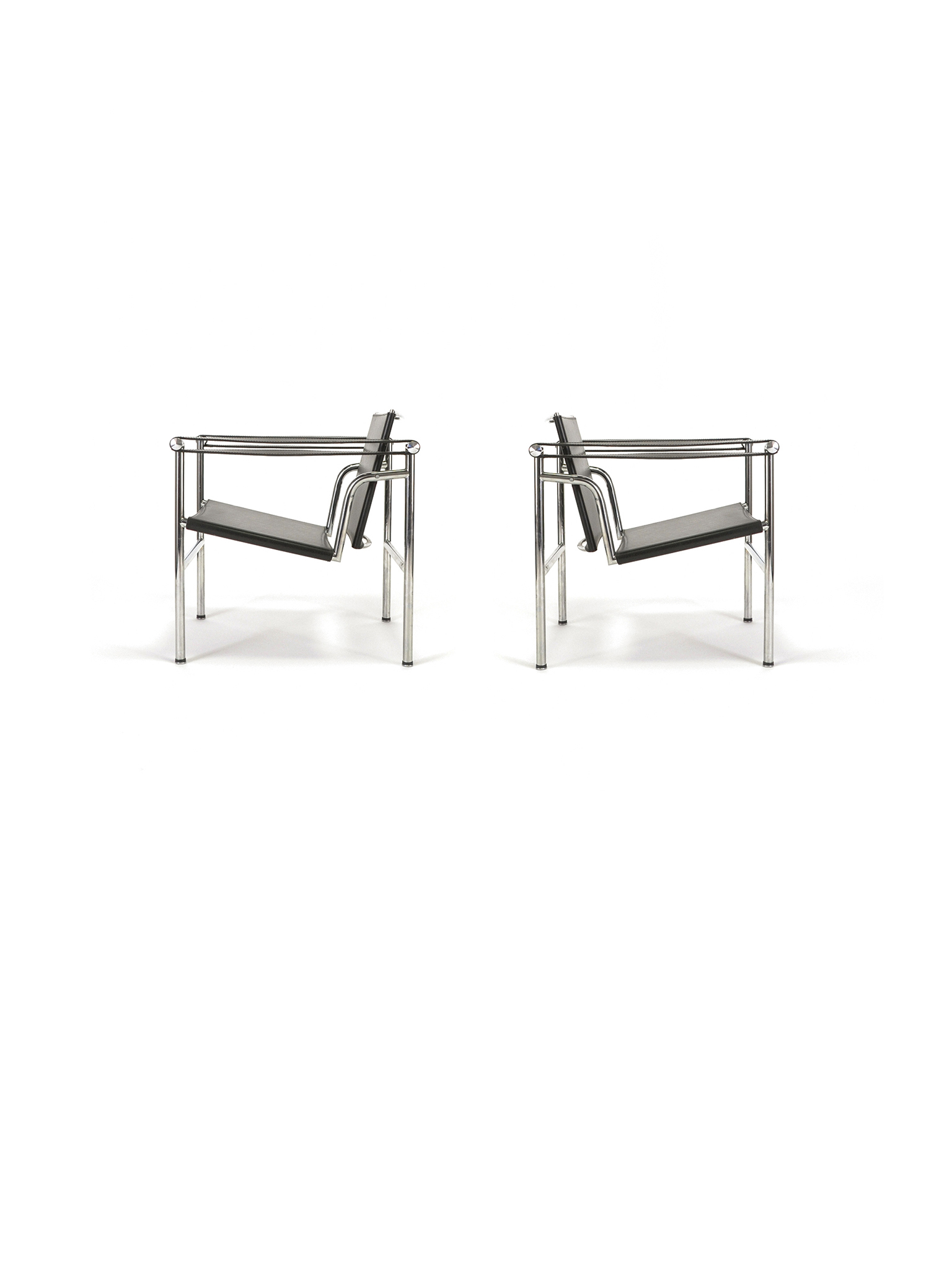 LC1 EASY CHAIRS BY LE CORBUSIER